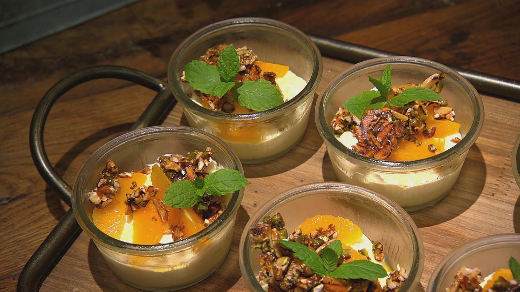 Weltreise – Zu Gast in Afrika: Orangen-Mandel-Pudding