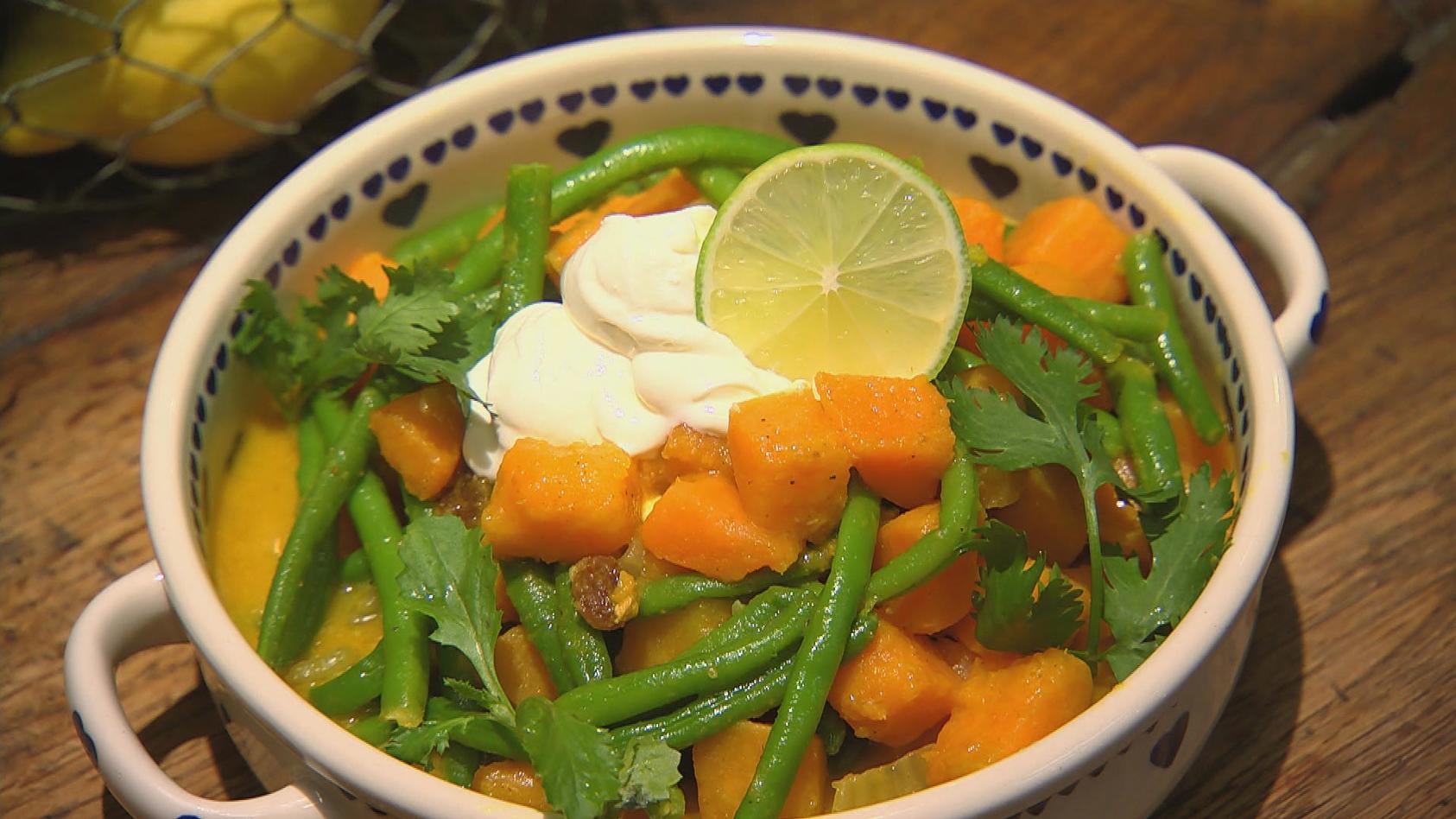 Kartoffelheld – Knollengerichte für jeden Tag: Süßkartoffel-Curry