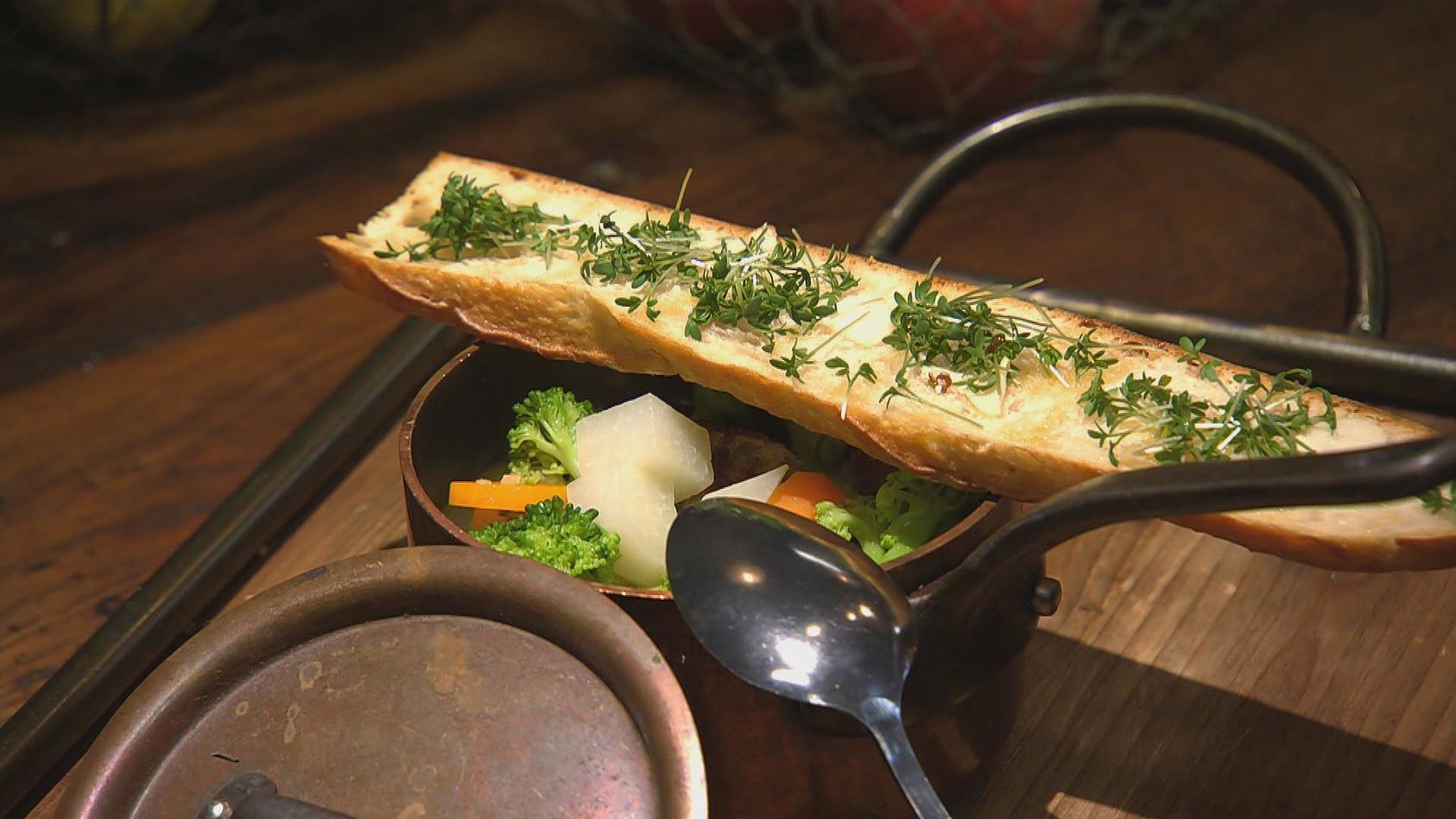 Das Reste zum Schluss - Aus Resten tolle Gerichte zaubern: Bunte Suppe