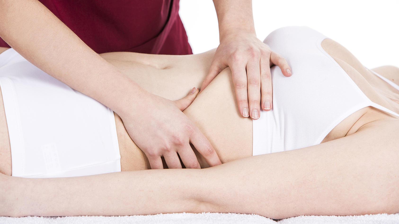 Beim Zwerchfellbruch sind Teile des Magens in die Brusthöhle gelangt