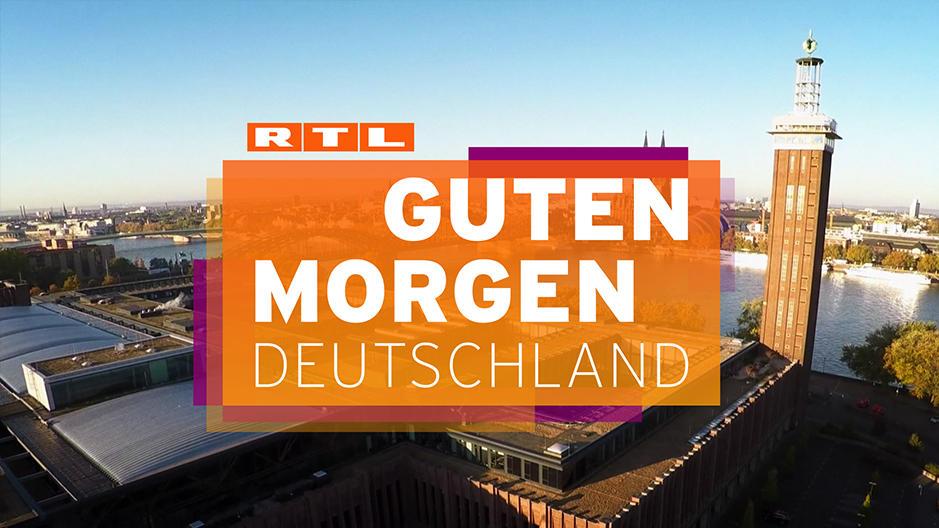 Unter der Woche begrüßen Sie unsere Moderatoren von 6:00 Uhr bis 8:30 Uhr bei RTL.