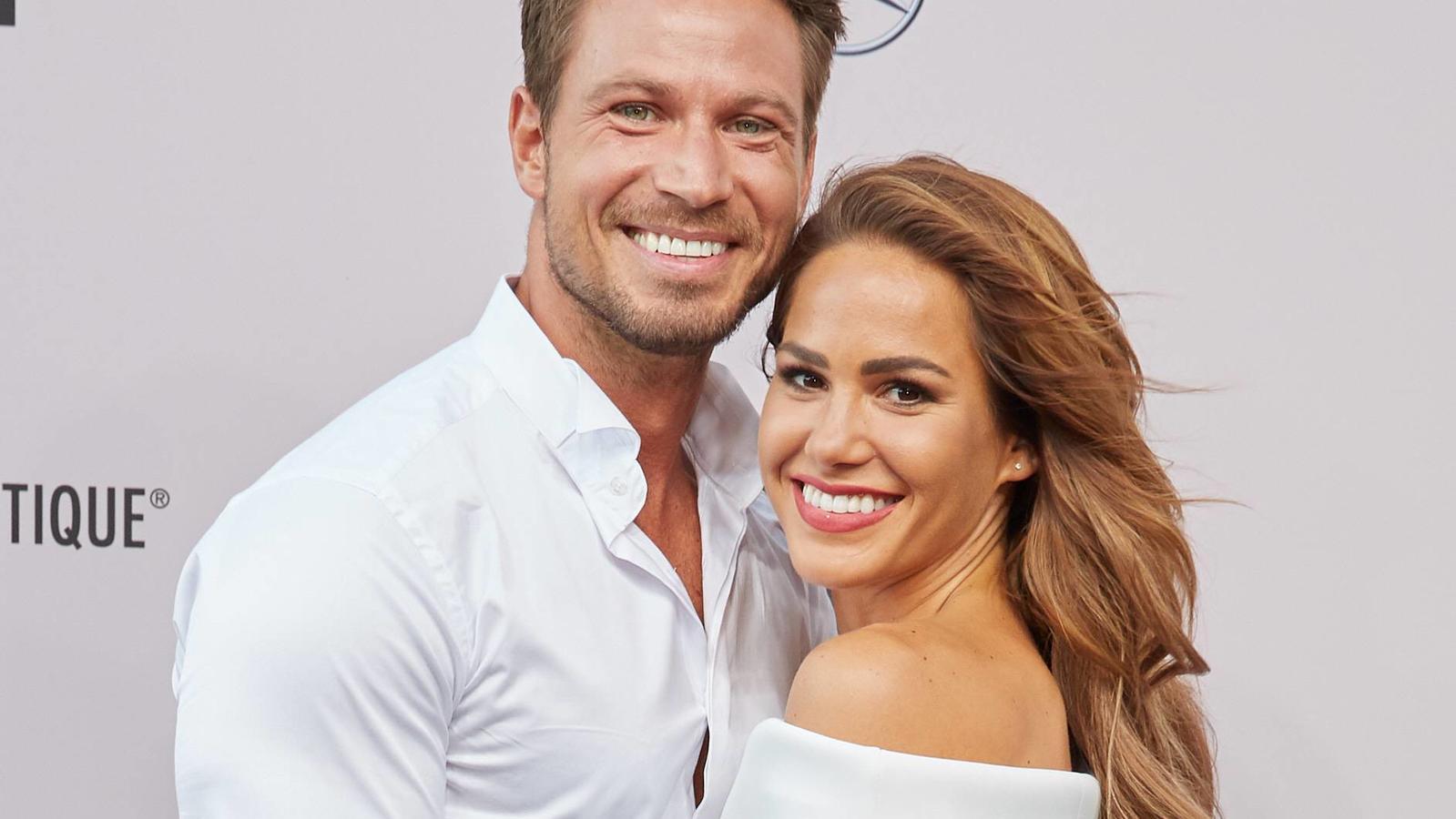 Mit ihrem Baby machten sich Sebastian und Angelina Pannek in diesem Jahr das größte Geschenk.
