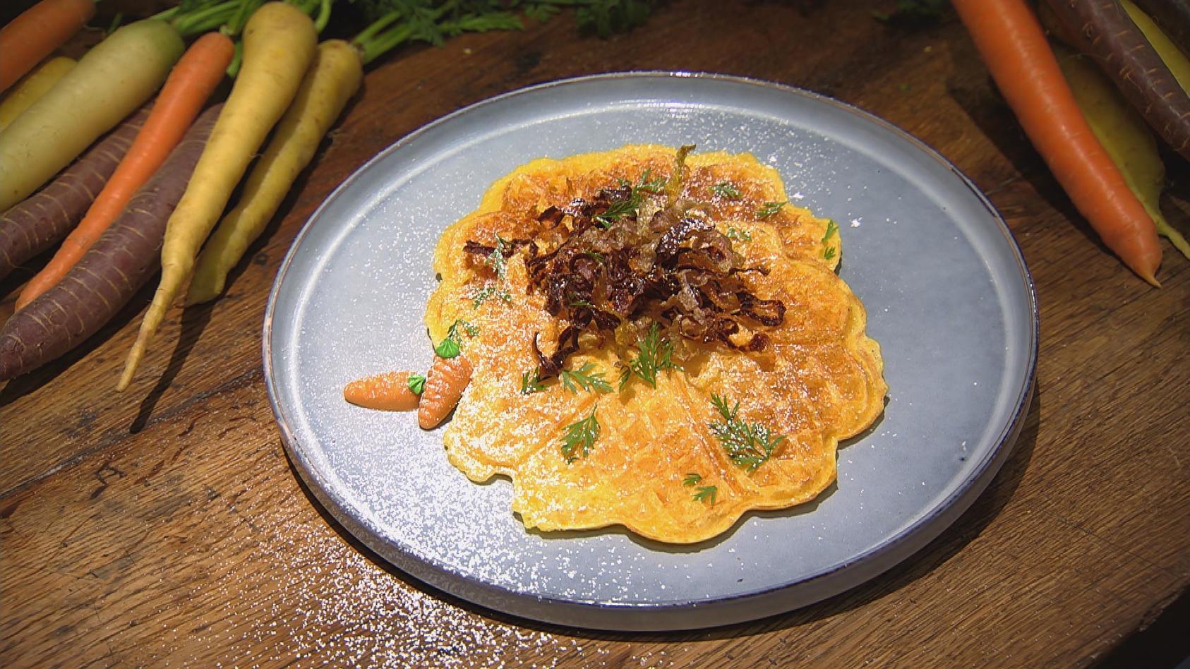 Flotte Karotte – Gerichte mit unserer Lieblingswurzel: Möhrenwaffeln