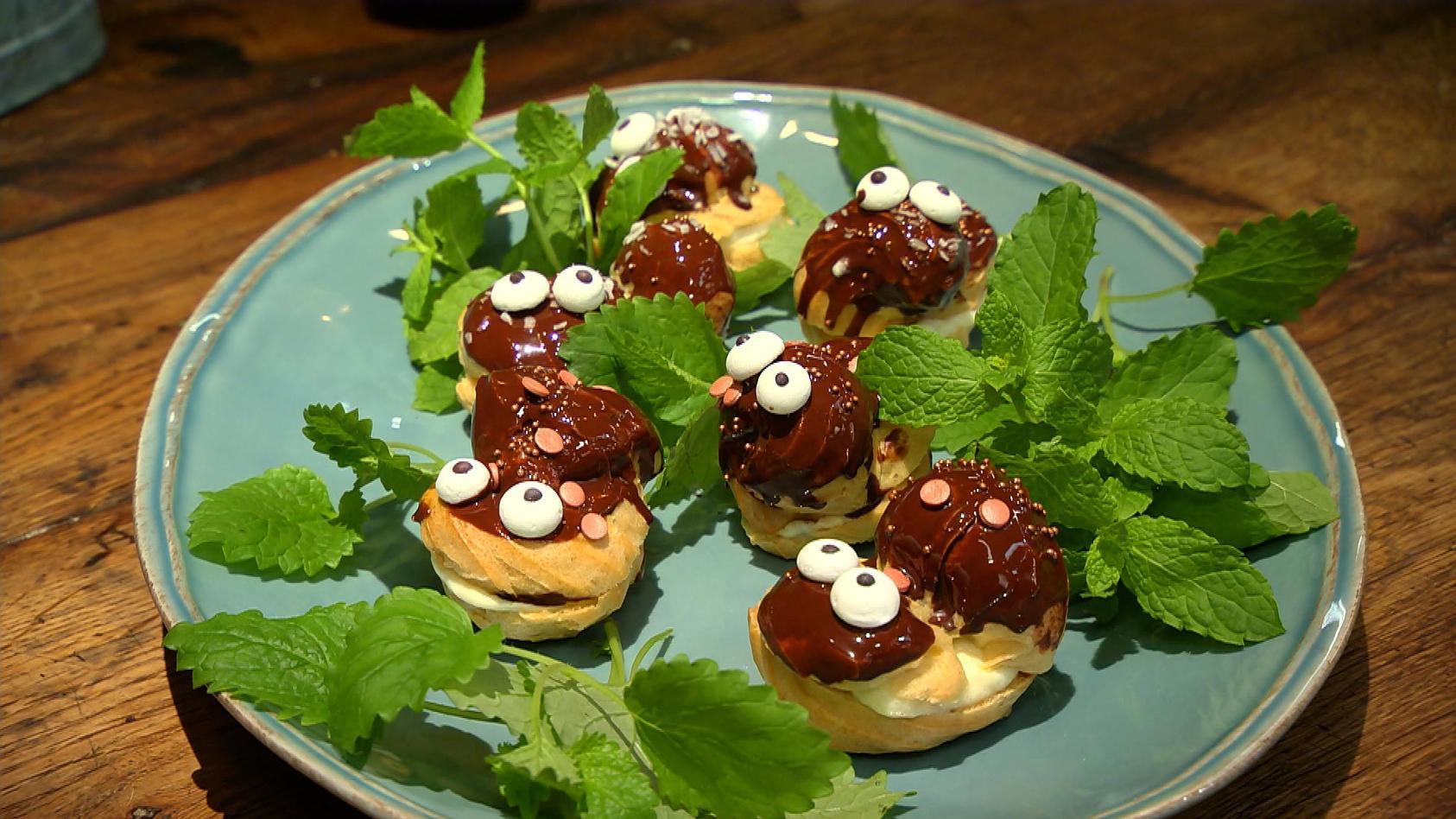 Das schmeckt allen – Kochen für die Familie: Schokokuss-Windbeutel