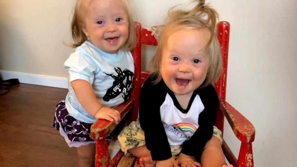 Charlotte und Annette Prescott aus Oregon, USA