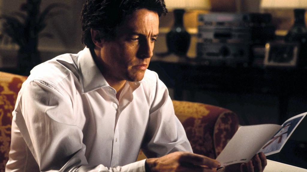 """Hugh Grant in """"Tatsächlich... Liebe"""""""