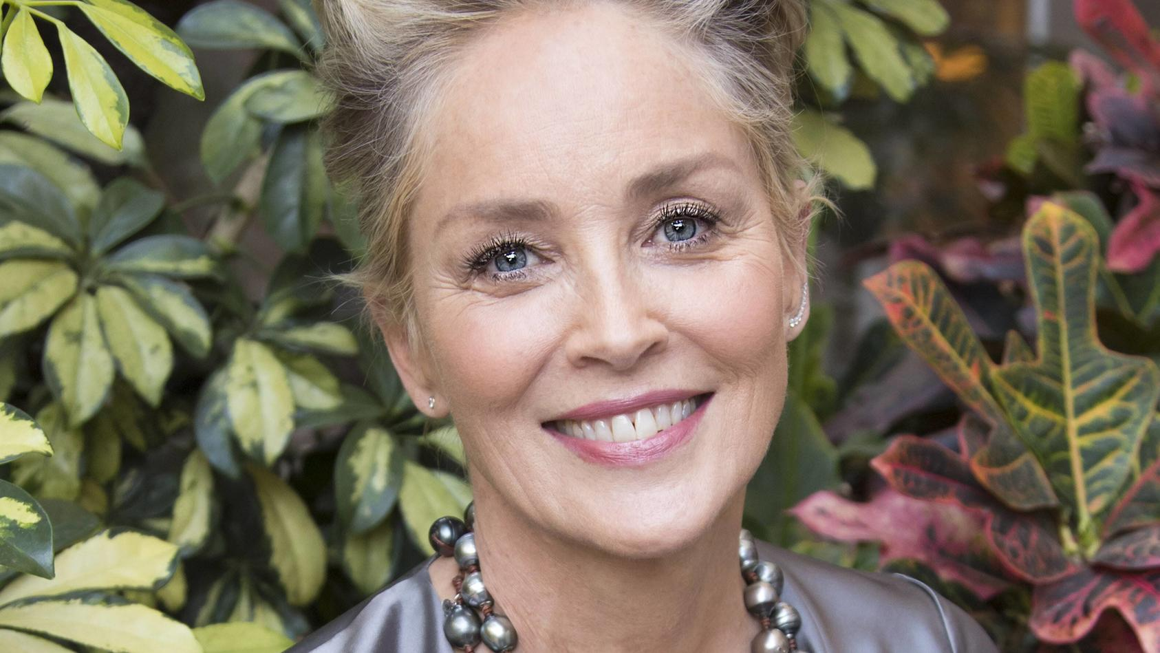 December 12, 2017 - Hollywood, California, U.S. - American Actress SHARON STONE promotes the movie Mosaic in Hollywood.
