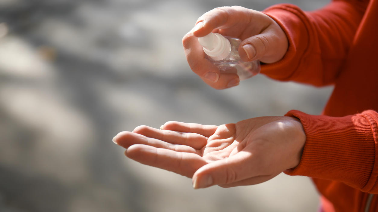 Darum schadet Handdesinfektion nicht