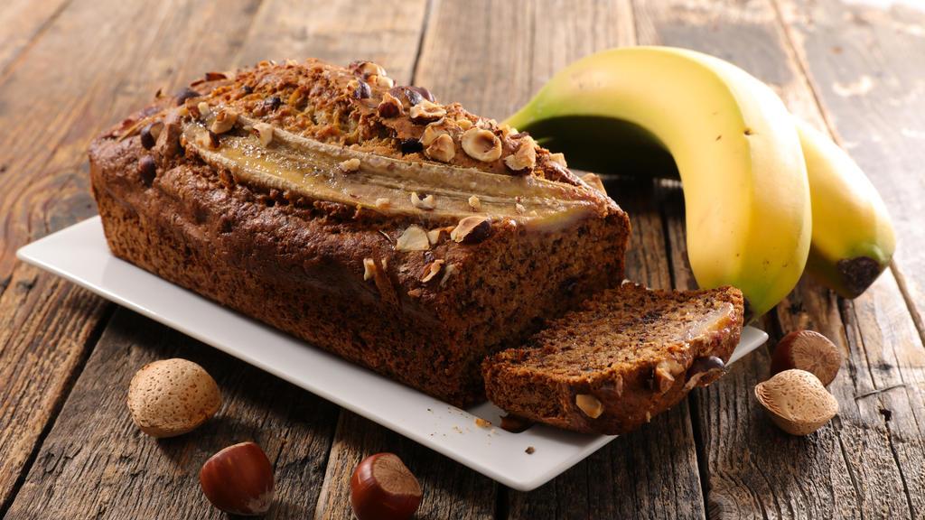 Bananenbrot - der perfekte Frühstücker!