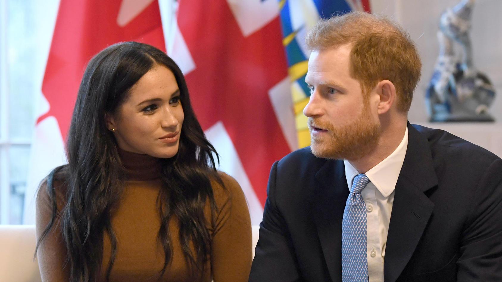 Herzogin Meghan und Prinz Harry müssen sich einen anderen Namen für ihre gemeinnützige Organisation aussuchen.