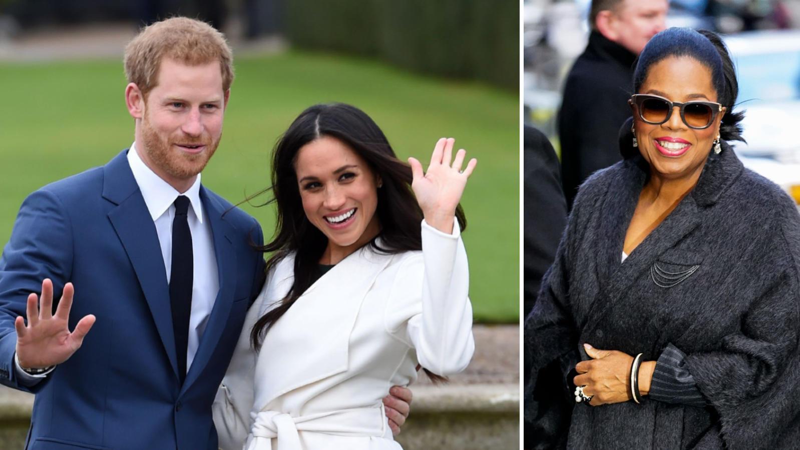 Prinz Harry und Herzogin Meghan werden  Oprah Winfrey ein intimes Interview geben.