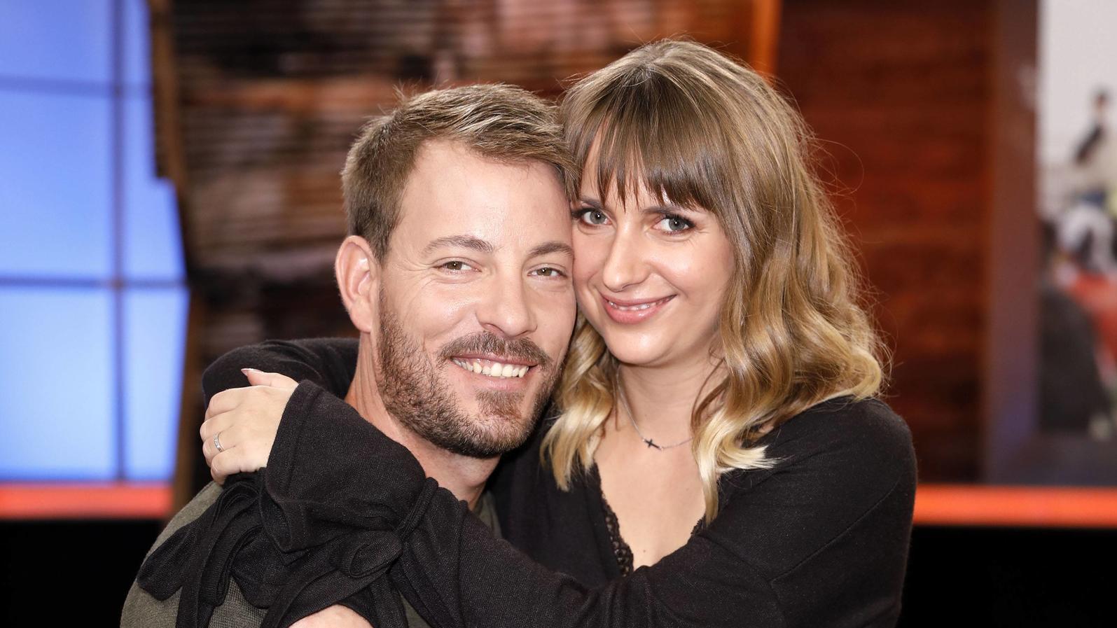 Gerald Heiser und Ehefrau Anna freuen sich auf ein Baby.