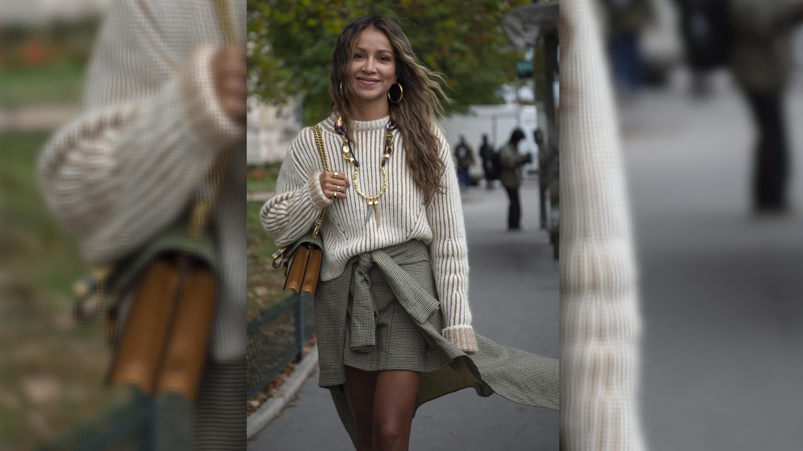 Bloggerin Julie Sariñana bei der Paris Fashion Week.