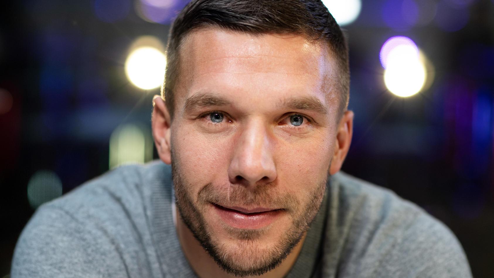 Lukas Podolski liebt seine Familie über alles.
