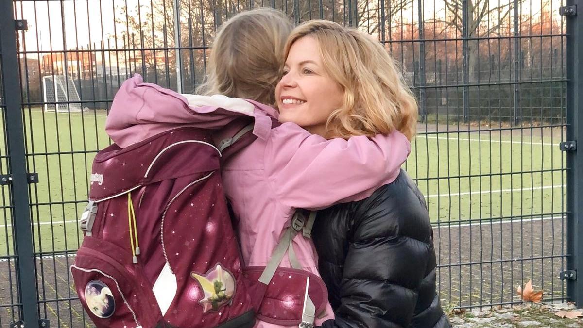 Eva Imhof findet, dass es eine Frage des Respekts ist, seine Kinder pünktlich von der Schule abzuholen.