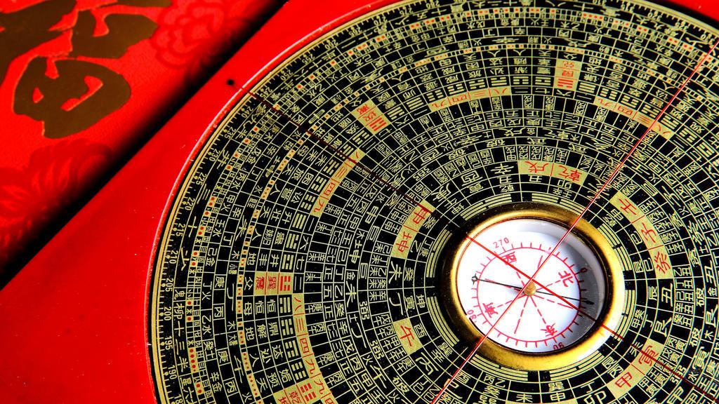 Feng Shui Kompass