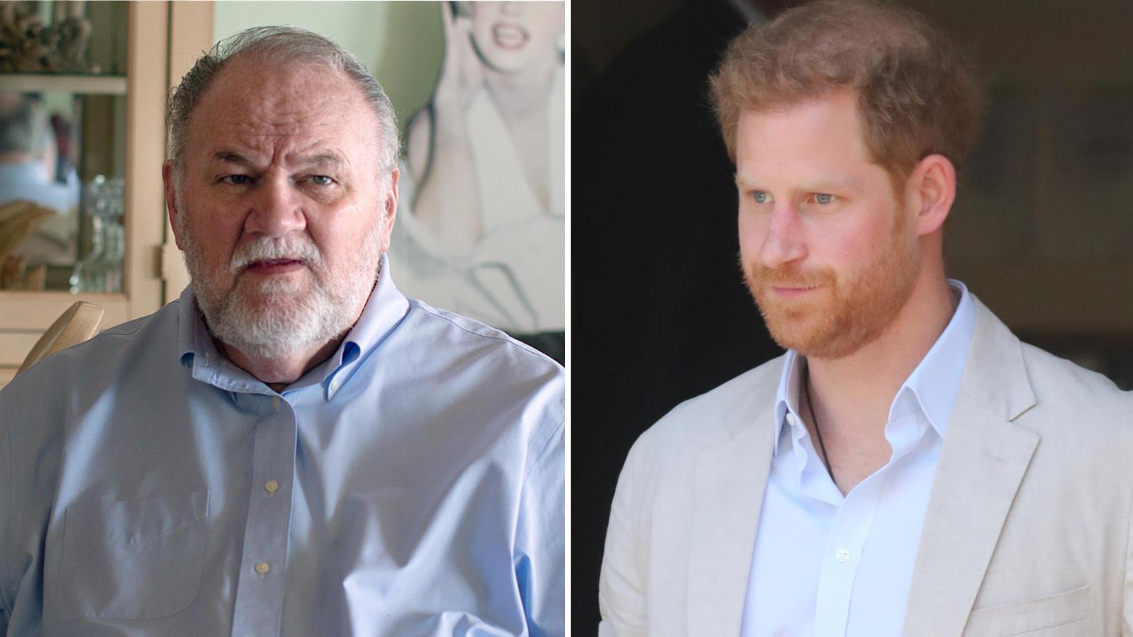 Thomas Markle behauptet, dass Oprah Winfrey Prinz Harry ausnutze