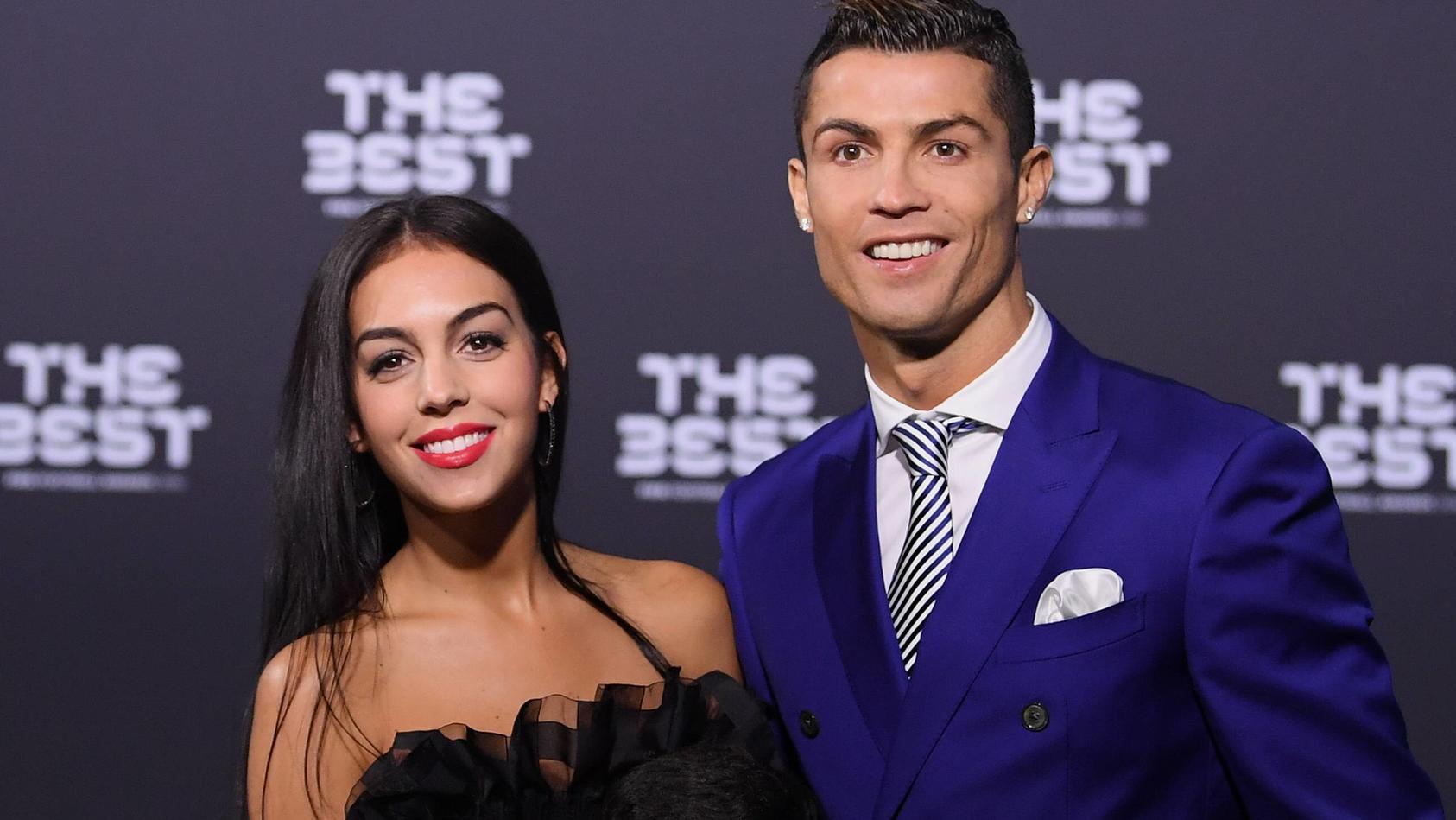 Cristiano Ronaldo und seine Partnerin Georgina Rodriguez.