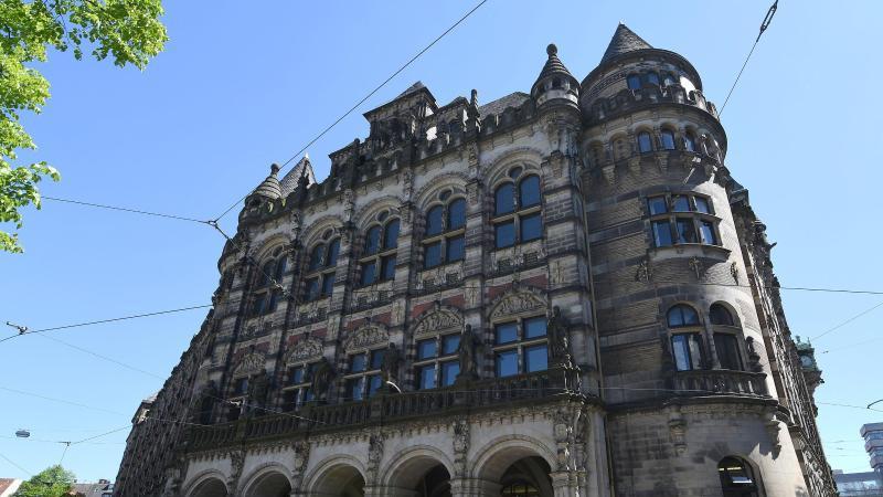 Das Landgericht in Bremen. Foto: Carmen Jaspersen/dpa/Archiv