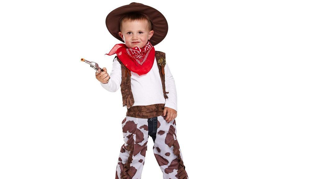 Der Cowboy ist ganz schön wild.