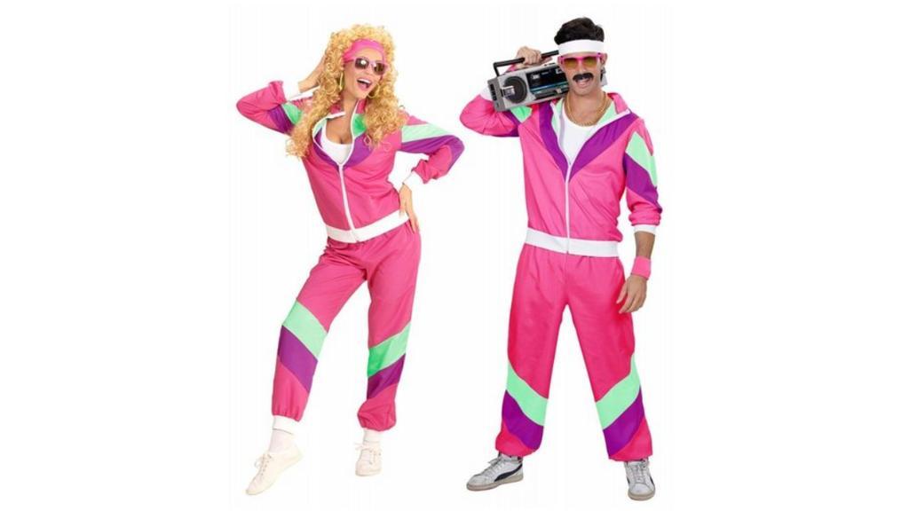 80er Jahre Kostüm für Damen und Herren bei Otto.