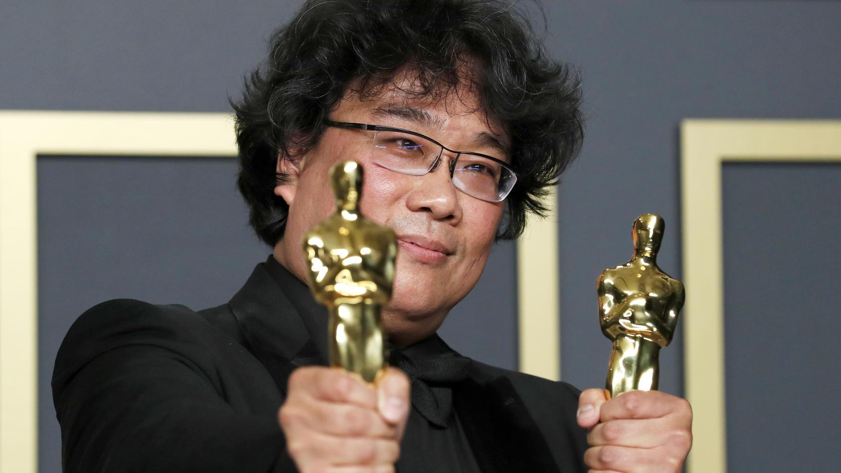 """Bong Joon Ho wurde für """"Parasite"""" ausgezeichnet"""