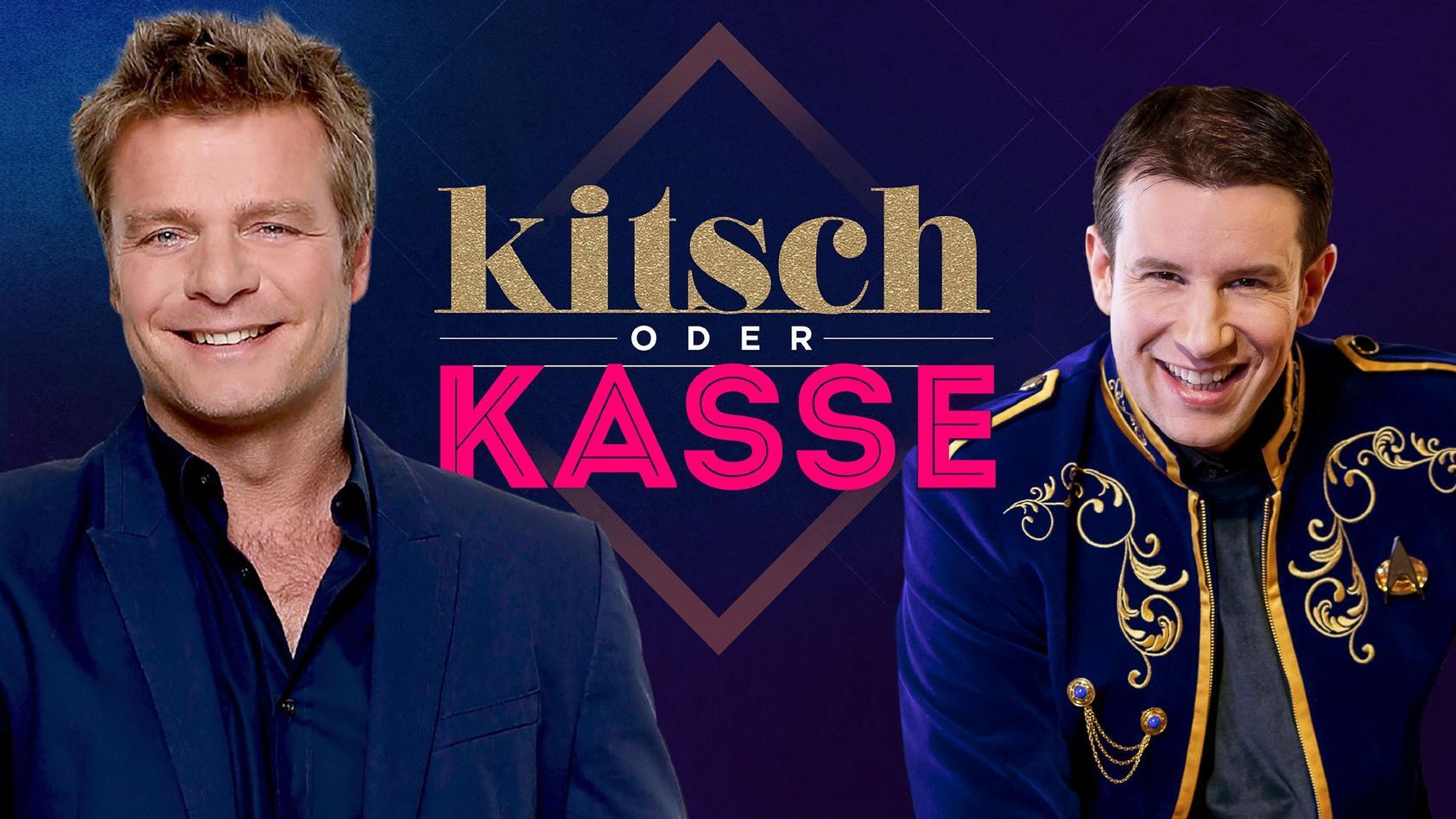 """Oliver Geissen moderiert die Rateshow """"Kitsch oder Kasse""""."""