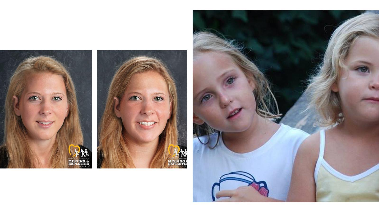 Livia und Alessia Schepp sind seit neun Jahren verschwunden. Mit diesen computergenerierten Bildern erhofft sich Mutter Irina neue Spuren.