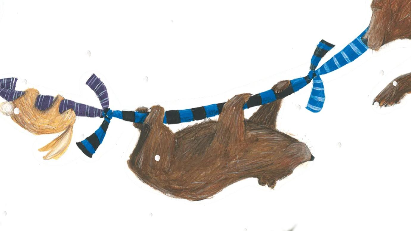 """""""The Bear and his Scarf"""" – Kinderbuch des FC Brügge"""