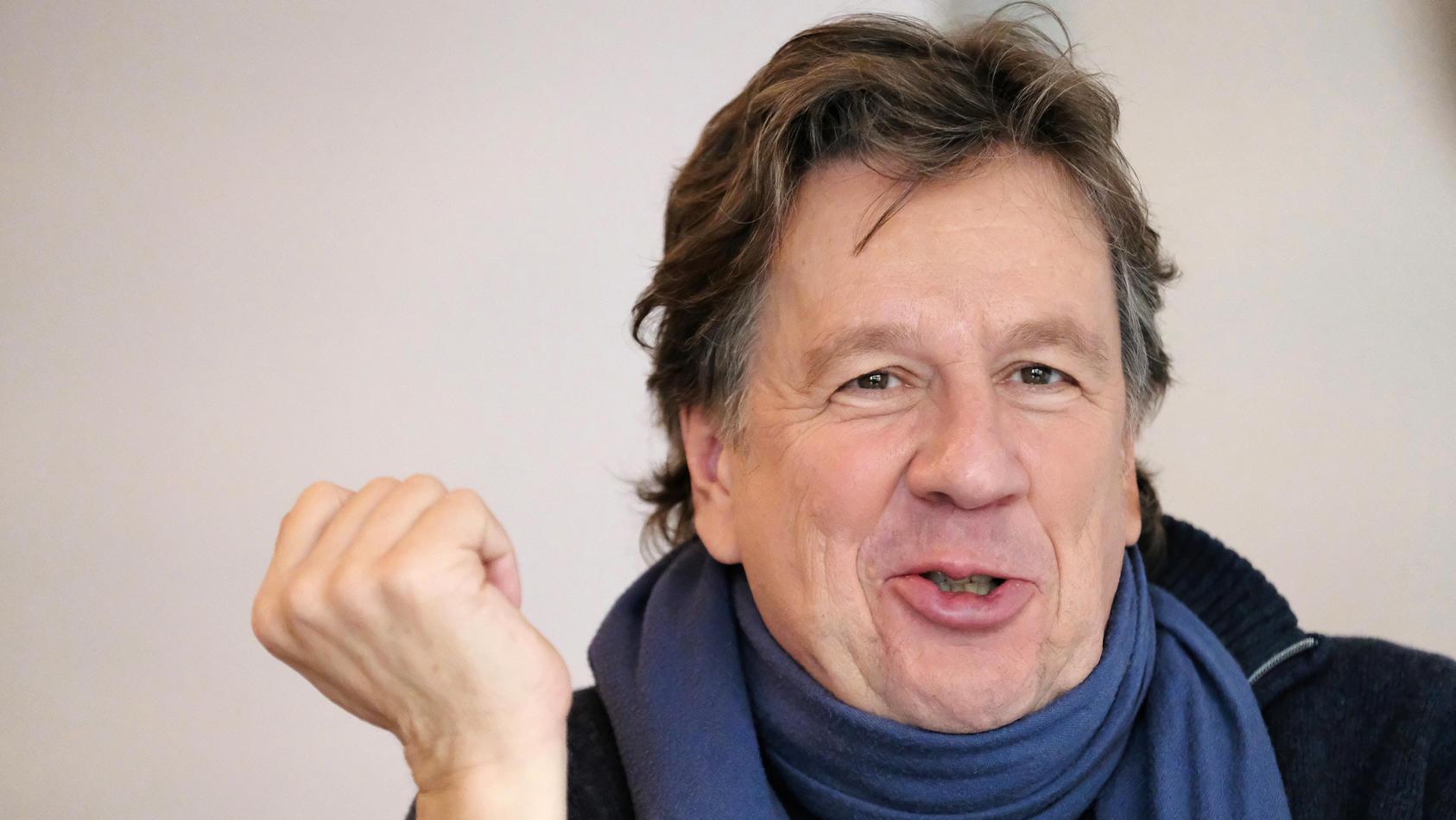 Moderator Jörg Kachelmann