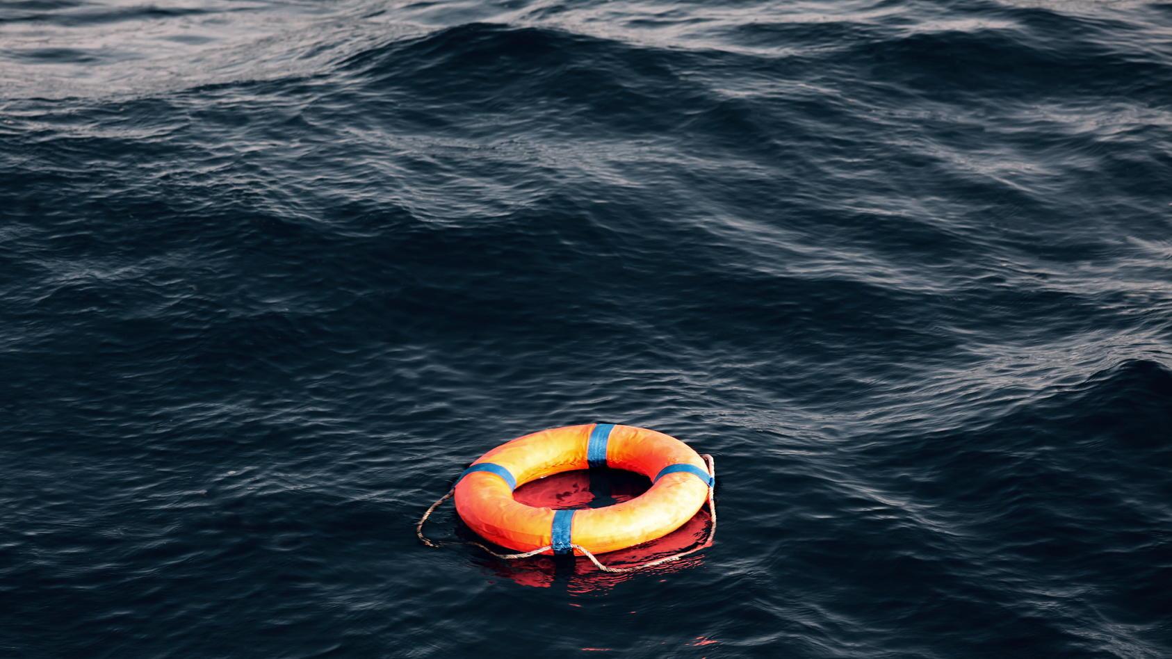 Seenotrettung im Mittelmeer - Motivbild