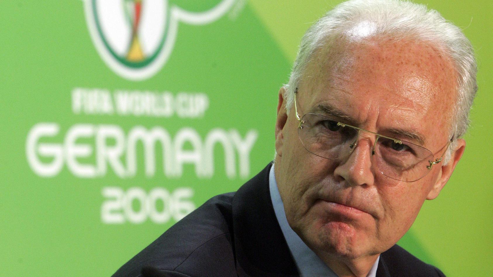 Franz Beckenbauer holte die WM 2006 nach Deutschland