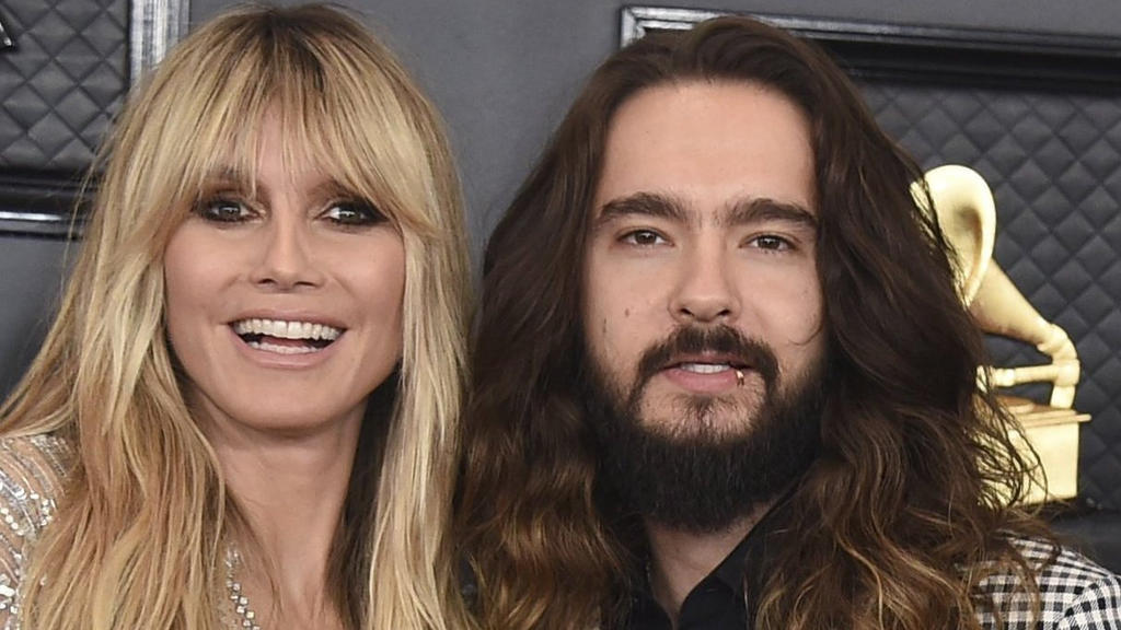 Heidi Klum ist ganz romantisch mit ihrem Mann Tom Kaulitz.