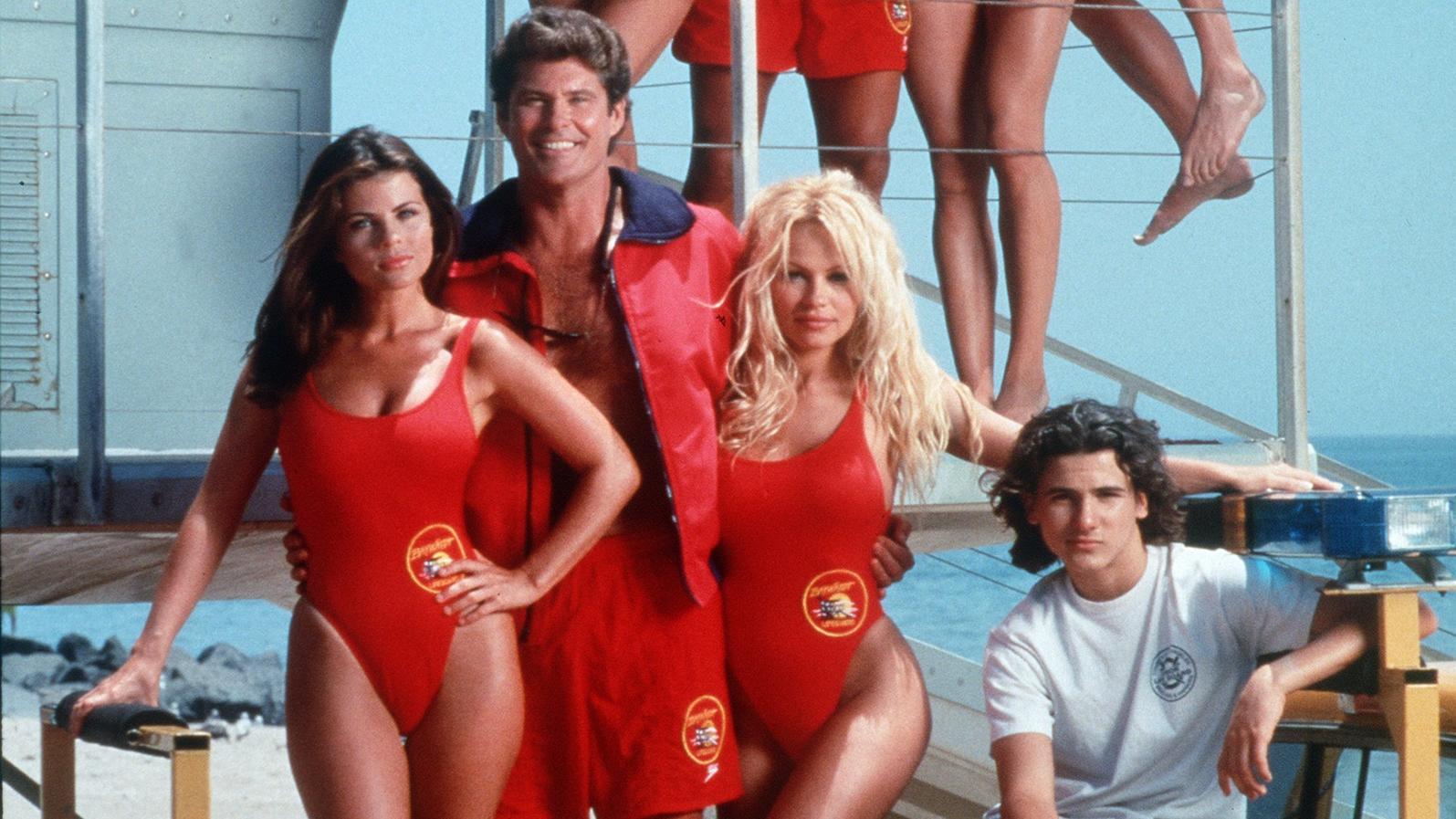 """Die """"Baywatch""""-Crew flimmerte in den 90ern über die heimischen Bildschirme."""