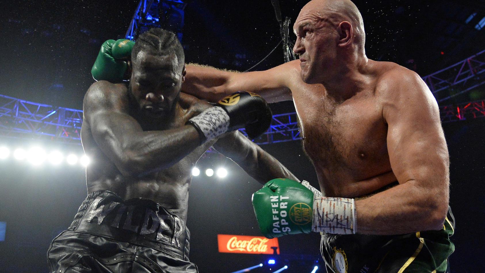 Tyson Fury knöpfte Deontay Wilder Anfang 2020 den WBC-Titel ab