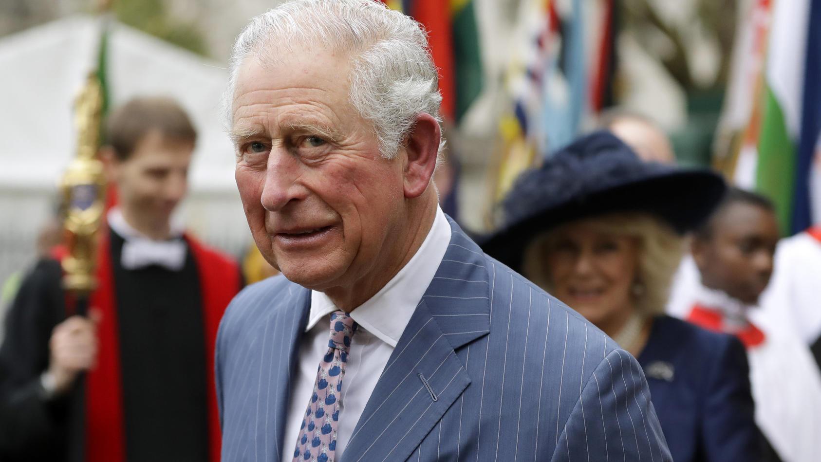 Prinz Charles hatte sich mit dem Coronavirus infiziert.