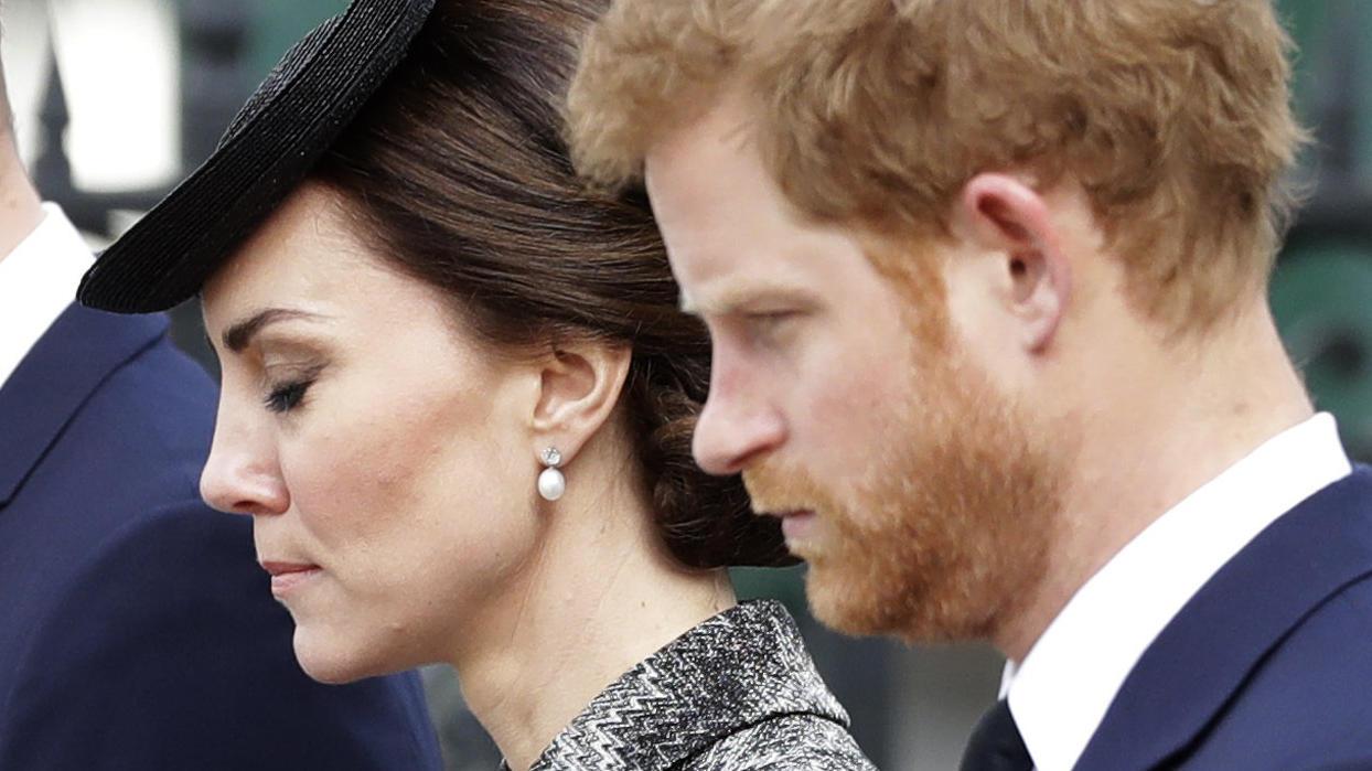 Herzogin Kate musste sich schweren Herzens von Prinz Harry verabschieden.