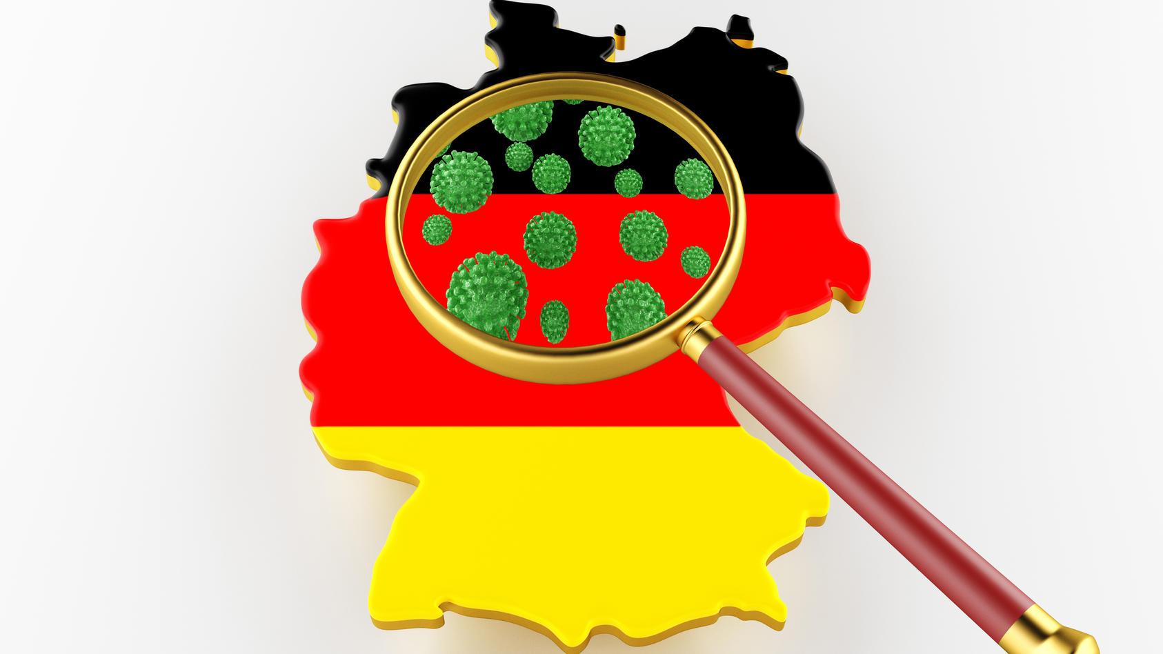 Einige Regionen in Deutschland sind stark vom Coronavirus betroffen, andere kaum. Wir zeigen, wo die Zahlen am höchsten sind. (Symbolbild)