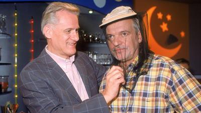 Hans Christiani (rechts) an der Seite von Frank-Thomas Mende (links).