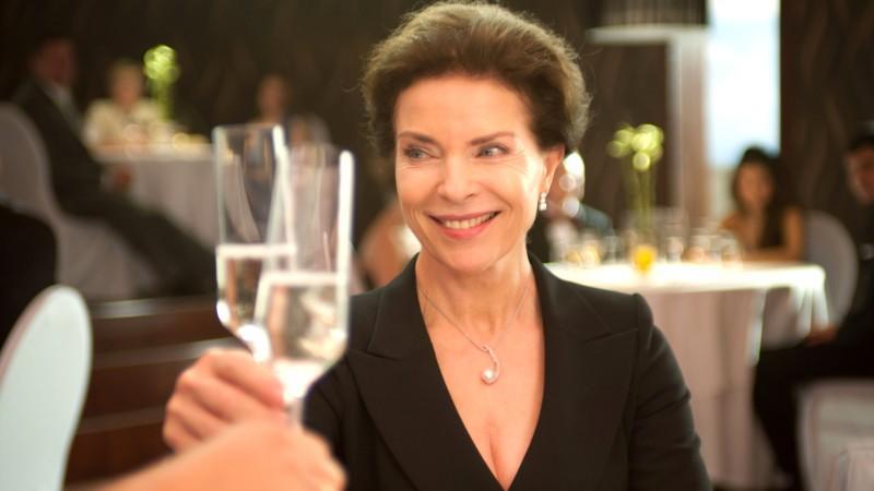 """In """"Bermuda-Dreieck Nordsee"""" spielt Gudrun Landgrebe die skrupellose Konzernchefin Claudia Schelking"""