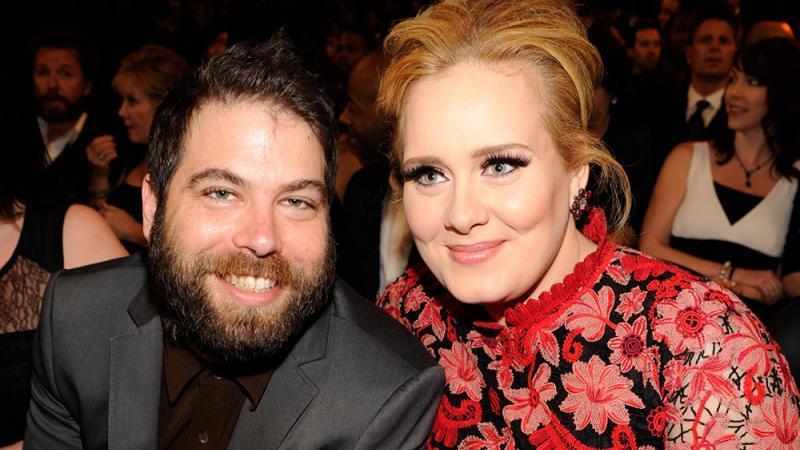 Adele und Simon Konecki vor ihrer Trennung.