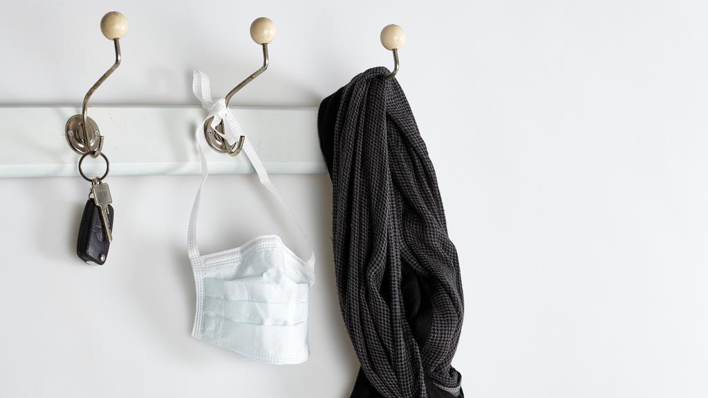Schal als Alternative zur Atemschutzmaske