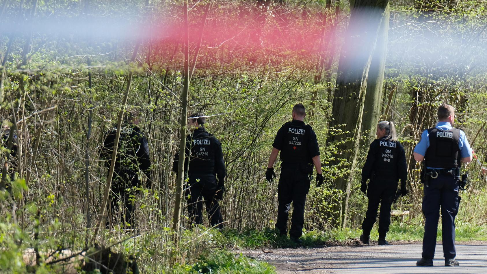 Gewaltdelikt im Leipziger Auwald