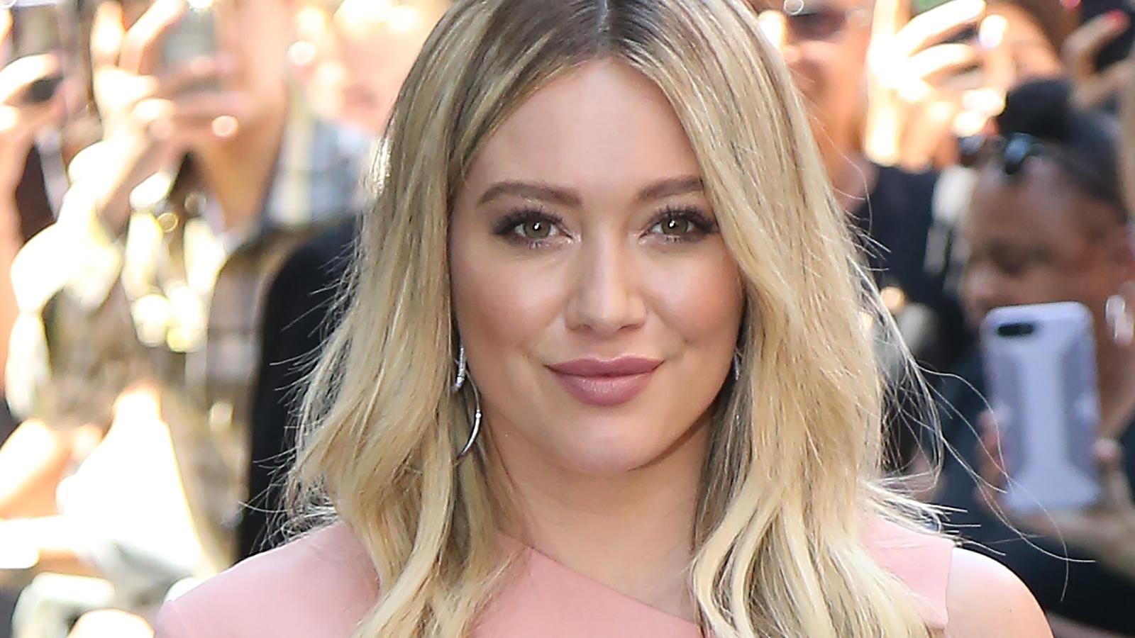 Hilary Duff hatte offenbar Lust auf eine kleine Typveränderung.