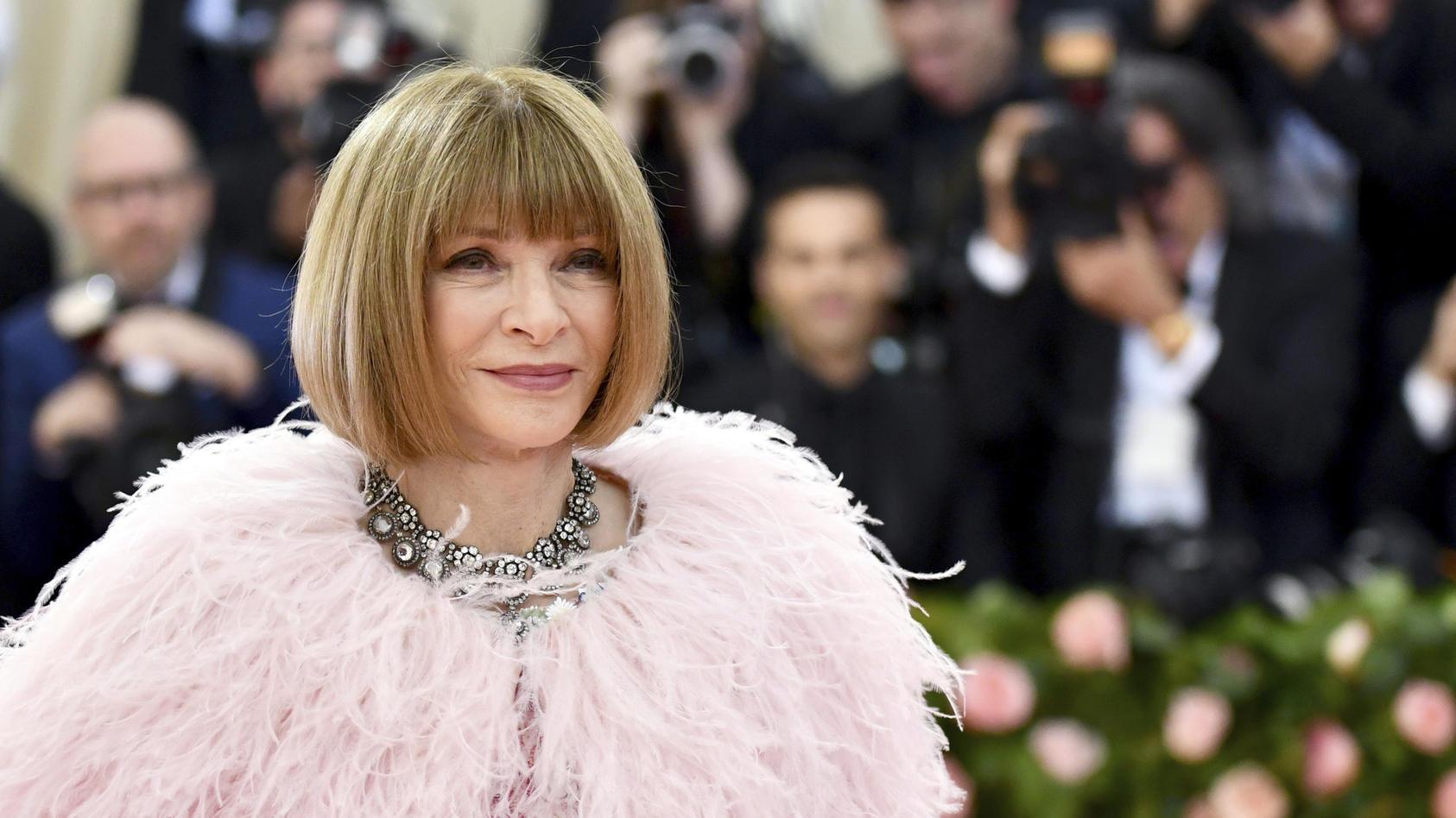 Die Vogue-Chefin Anna Wintour wird für ihre gnadenlose Offenheit gefürchtet