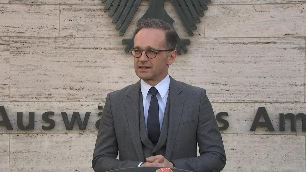 Außenminister Heiko Maas in Berlin
