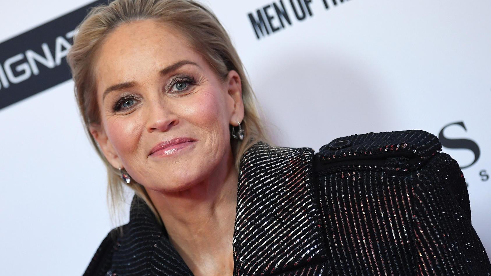 Schauspielerin Sharon Stone ist Mutter von drei Söhnen.