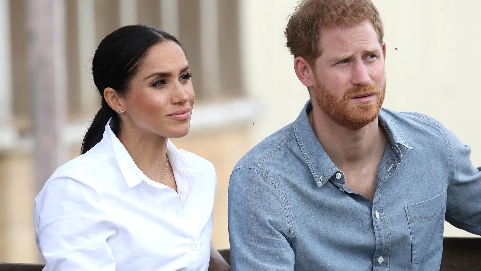 Herzogin Meghan und Prinz Harry sind 2020 einen drastischen Schritt gegangen.
