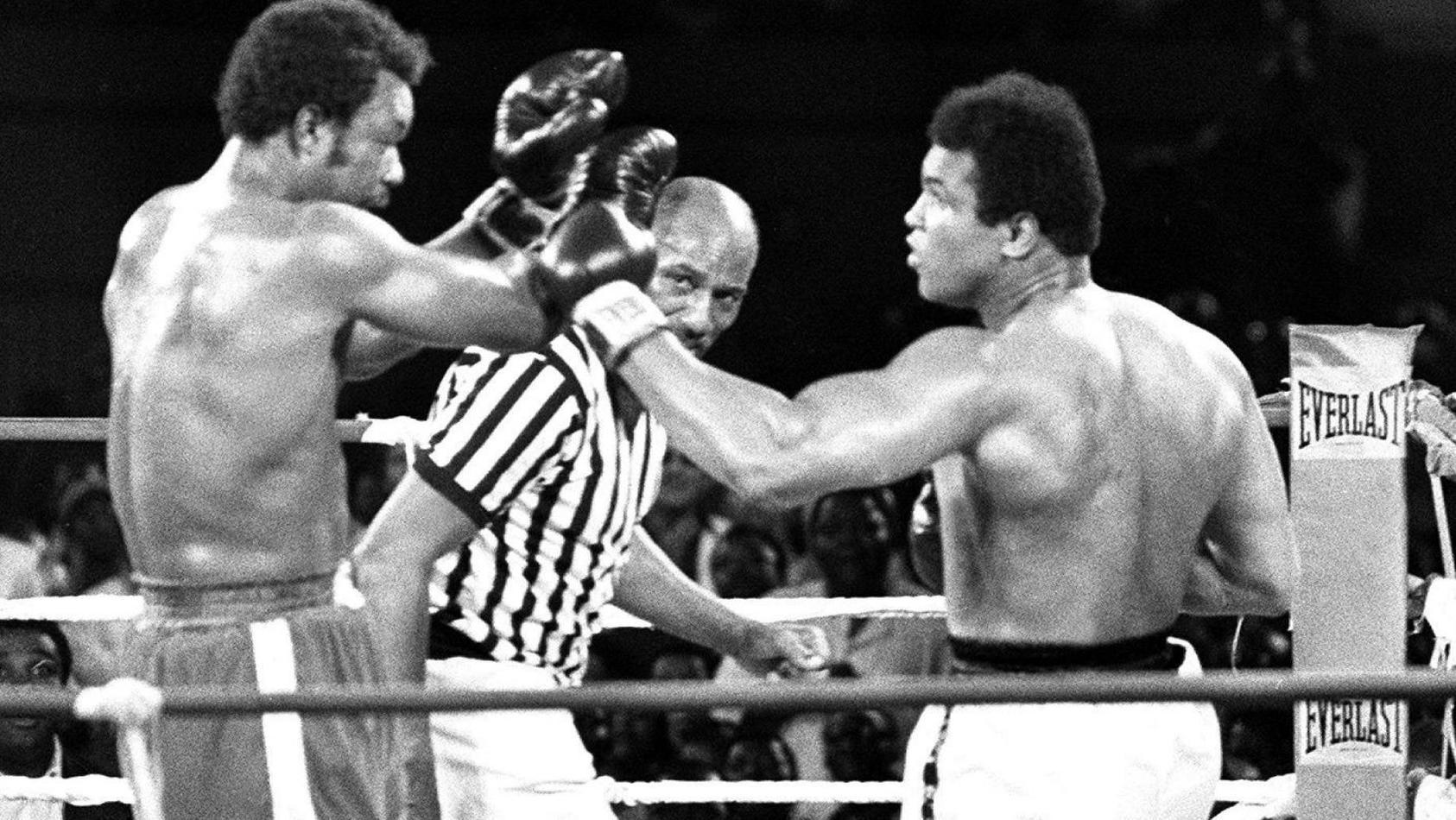 Boxen: Muhammad Ali schlug vor 46 Jahren George Foreman k.o.