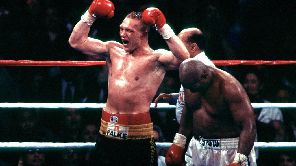 George Foreman vs. Axel Schulz, 22. April 1995 in Las Vegas